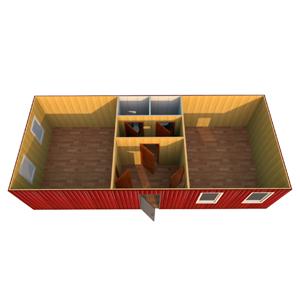 Модульное здание 12000 х 4800 х 2500 мм «ОФИСНОЕ ПОМЕЩЕНИЕ»